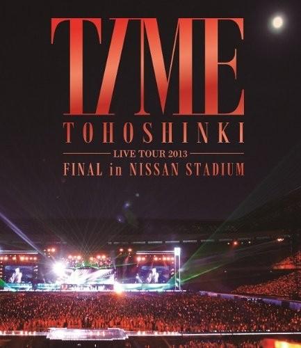 東方神起 LIVE TOUR 2013 〜TIME〜 FINAL in NISSAN STADIUM/東方神起 (ブルーレイディスク)