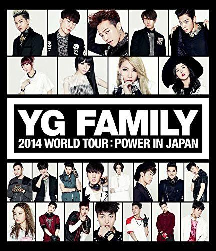 YG FAMILY WORLD TOUR 2014-POWER-in Japan (ブルーレイディスク)