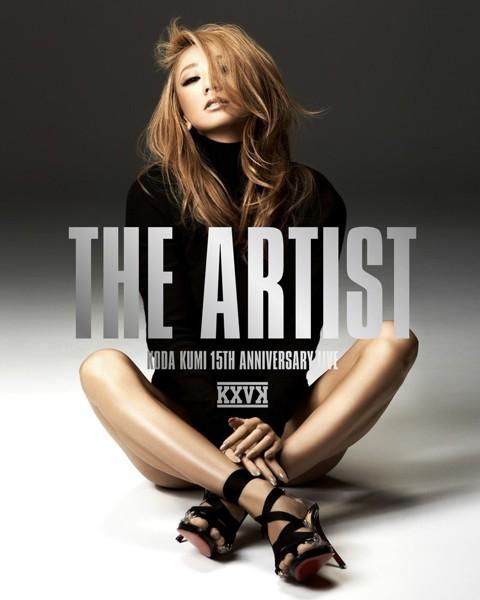 KODA KUMI 15th Anniversary LIVE The Artist/倖田來未 (ブルーレイディスク)