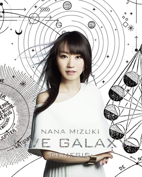 NANA MIZUKI LIVE GALAXY-GENESIS-/水樹奈々 (ブルーレイディスク)