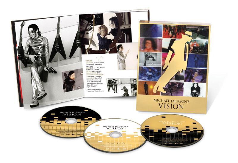 マイケル・ジャクソン VISION/マイケル・ジャクソン (完全生産限定盤)