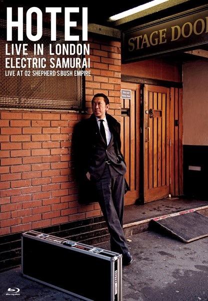 HOTEI LIVE IN LONDON Electric Samurai-Live at O2 Shepherd's Bush Empire-/布袋寅泰 (ブルーレイディスク)
