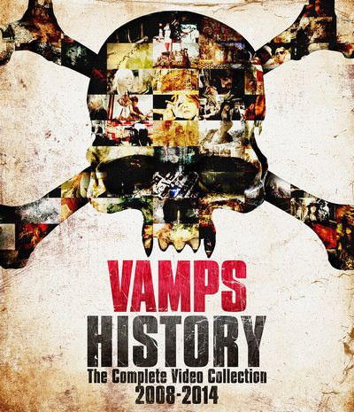 HISTORY-The Complete Video Collection 2008-2014/VAMPS(初回限定盤B)