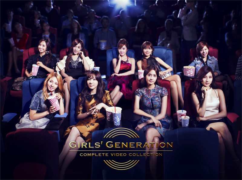 GIRLS' GENERATION COMPLETE VIDEO COLLECTION/少女時代 (通常盤)