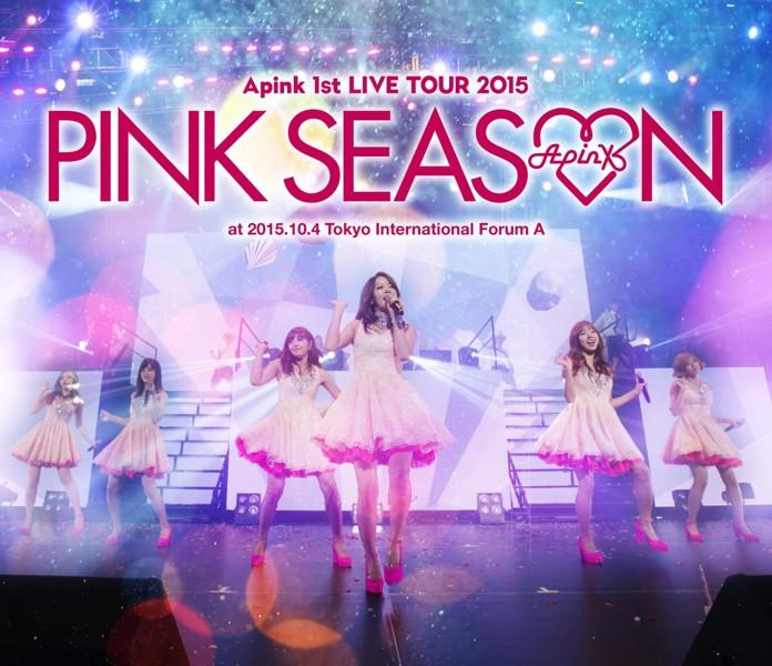 Apink 1st LIVE TOUR 2015〜PINK SEASON〜/Apink (ブルーレイディスク)