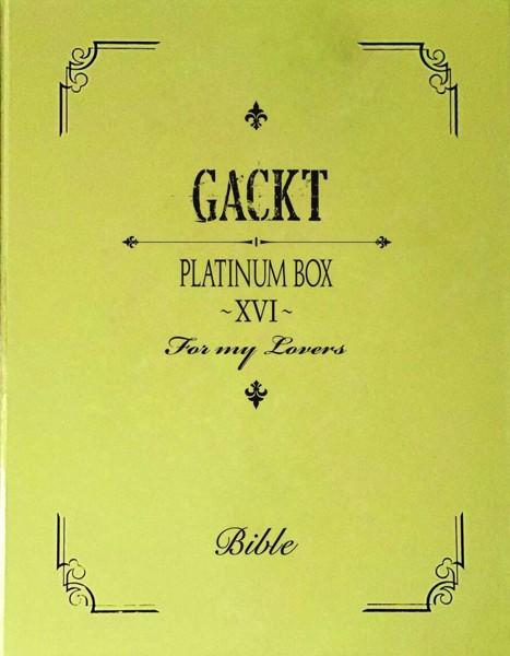 PLATINUM BOX〜XVI〜/GACKT