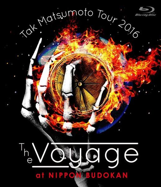 Tak Matsumoto Tour 2016-The Voyage- at 日本武道館/松本孝弘 (ブルーレイディスク)