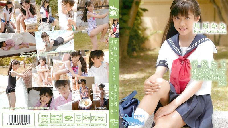 [ORGAB-020] Kana Kawahara 川原かな 学校なう はじめまして~修学旅行編~ Blu-ray