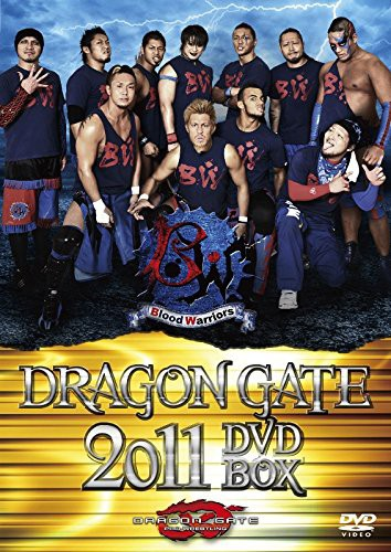 DRAGON GATE 2011 DVD-BOX