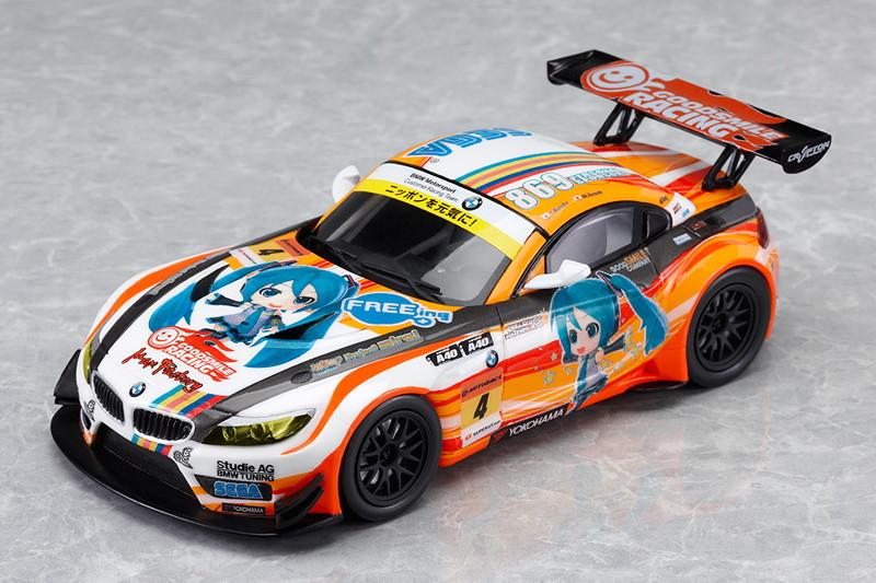 初音ミク and Future Stars Project mirai GSR ProjectMirai BMW 2012開幕ver.