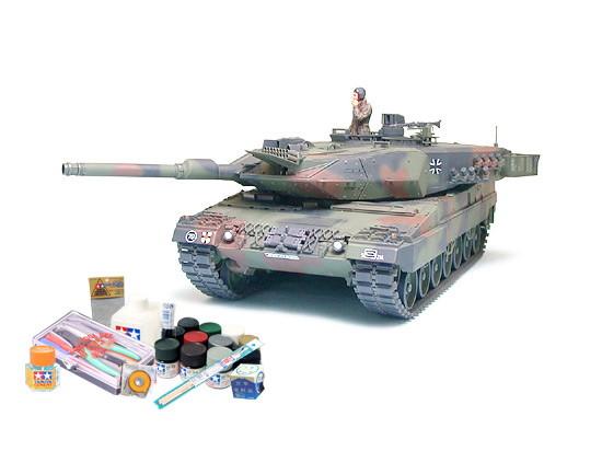 プラモデル制作セット 1/35スケール ドイツ連邦軍主力戦車 レオパルト2A5