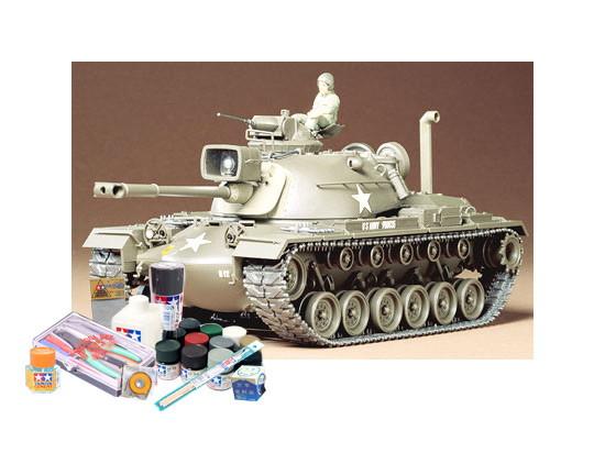 プラモデル制作セット 1/35スケール アメリカ M48Aパットン戦車