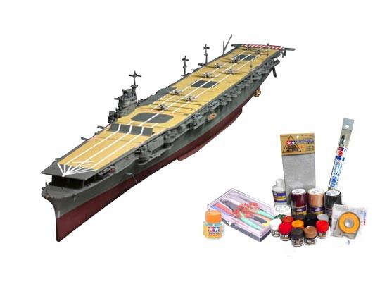 プラモデル制作セット 1/350スケール 旧大日本帝国海軍航空母艦 翔鶴