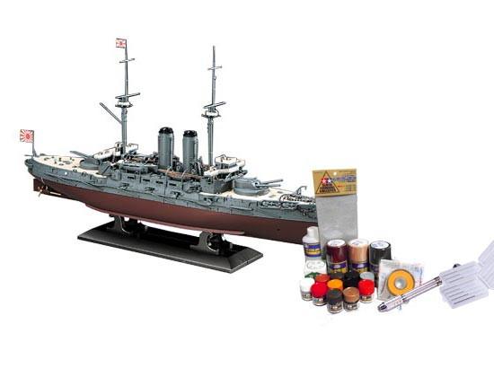 プラモデル制作セット 1/350スケール 日本海軍 戦艦 三笠