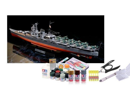 プラモデル制作セット 1/350スケール 日本海軍 航空巡洋艦 最上