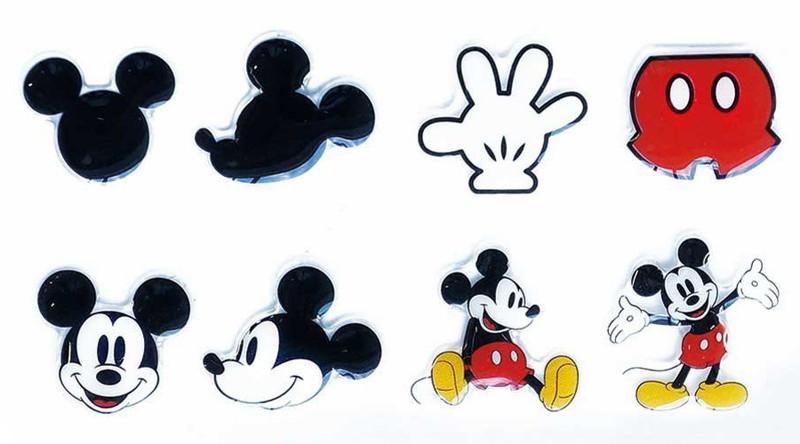 Disney キャラクターソフトシール ミッキーマウス