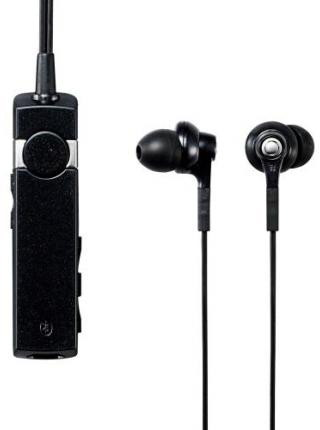 ロジテック Bluetooth/AV用ヘッドホン/外部レシーバ/ノイズキャンセル/HP300NC/ブラック LBT-AVHP300NCBK