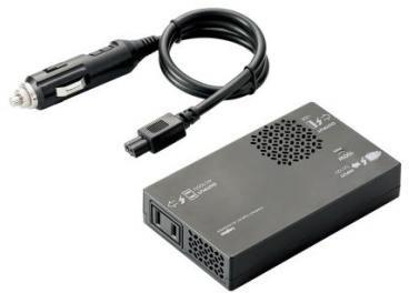 ロジテック DC・ACインバーター/車載用/USBポート搭載/150W LPA-CIVT150BK