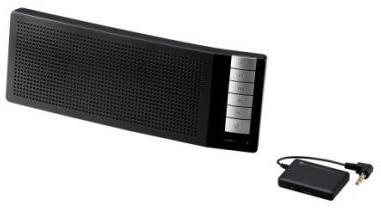 ロジテック Bluetooth/TV用スピーカー/コンパクト/通話用マイク付/受信機付き/ブラック LBT-TVSP100BK