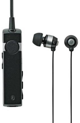 ロジテック Bluetooth/携帯用ヘッドホン/外部レシーバ/HP300シリーズ/ブラック LBT-MPHP300BK