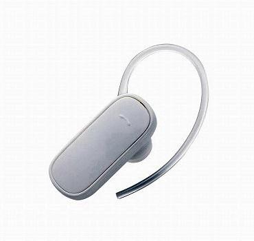 ロジテック Bluetooth/携帯用ヘッドセット/初心者向け/HS05シリーズ/ホワイト LBT-MPHS05WH