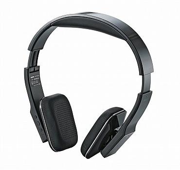 ロジテック Bluetooth/携帯用オーバーヘッドホン/apt-X/3.5φ端子対応/ブラック LBT-AVOH03ABK