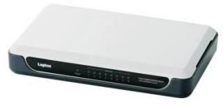 ロジテック ギガビットイーサHUB/8ポート/電源外付け/プラスチック/ホワイト LAN-GSW08/PH