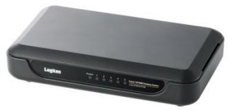 ロジテック イーサネットHUB/電源外付け/5ポート/ブラック LAN-SW05/PHB