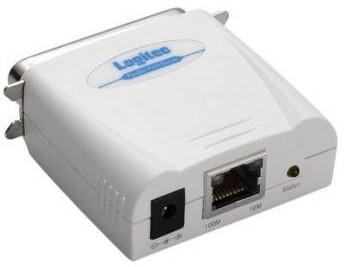 ロジテック パラレル プリントサーバ LAN-PS/P1