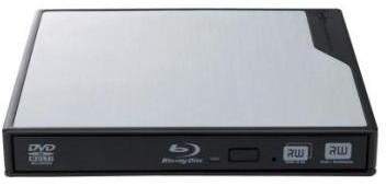 ロジテック USBバスパワー対応ポータブルBDユニット/USB3.0搭載/Mac用ソフト「TOAST11付属/シルバー LBD-PME6U3MSV