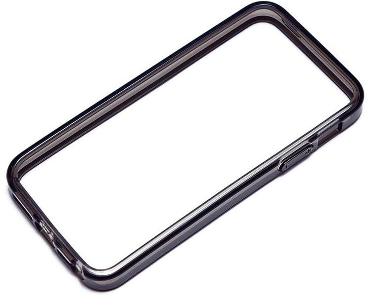 PGA iPhone5対応 TPUバンパー クリアブラック PG-IP5TP11CB