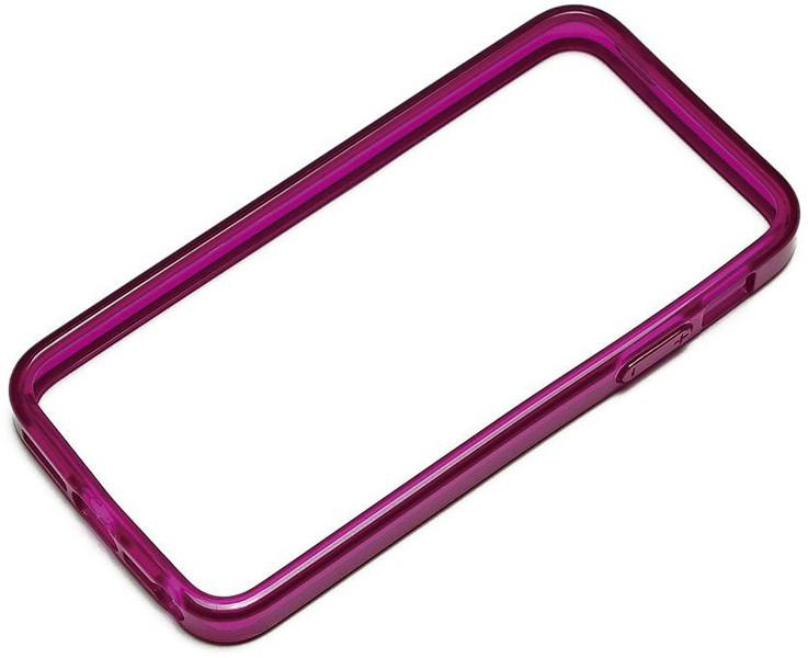 PGA iPhone5対応 TPUバンパー クリアピンク PG-IP5TP12PK