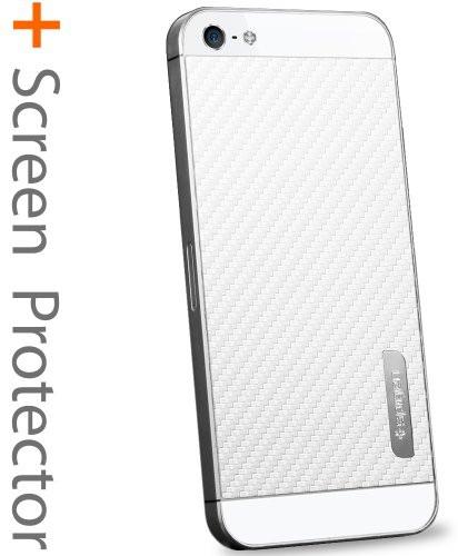 SPIGEN SGP SPIGEN SGP iPhone5 スキンガード [カーボン・ホワイト] SGP09569