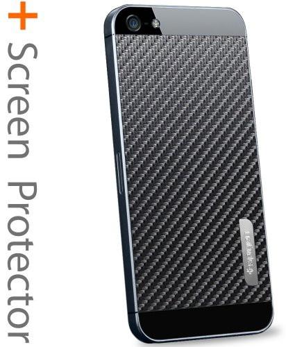 SPIGEN SGP SPIGEN SGP iPhone5 スキンガード [カーボン・ブラック] SGP09571