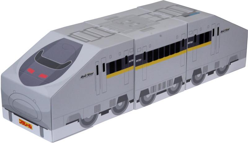 【10パック】プラレールティッシュ 70系新幹線 レールスター