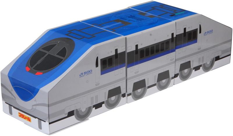 【10パック】プラレールティッシュ 500系新幹線