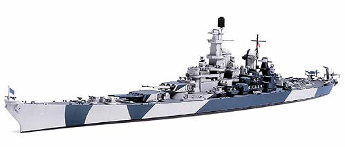 1/700 アメリカ海軍 戦艦アイオワ