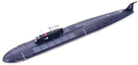 1/700 ロシア原子力潜水艦 クルスク