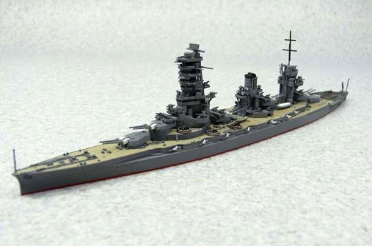 1/700 日本海軍戦艦 山城 1944 リテイク