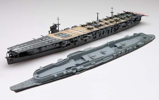 1/700 日本海軍航空母艦蒼龍 インド洋海戦(内部格納庫再現)