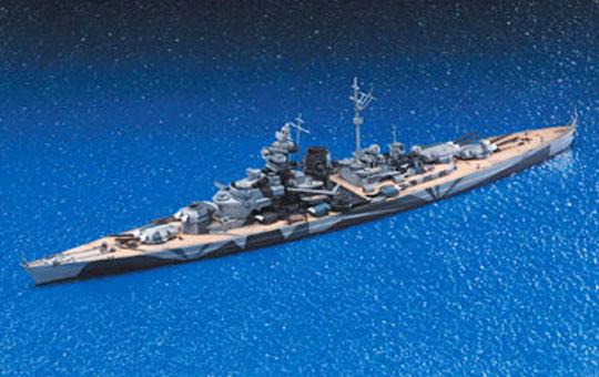 1/700 ドイツ戦艦ティルピッツ