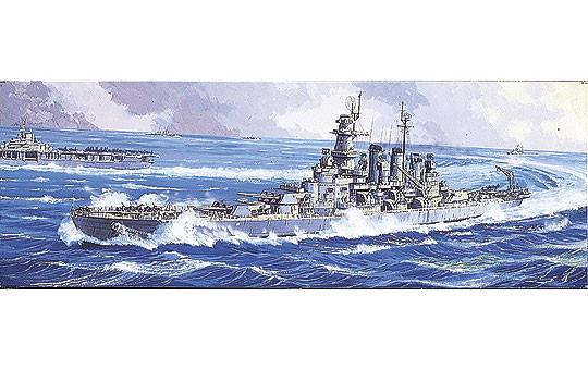 1/700 アメリカ海軍戦艦 ノースカロライナ