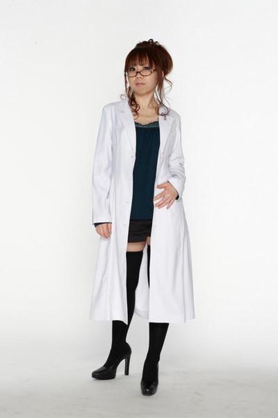 スタイリッシュ白衣 シングル 女子Lサイズ