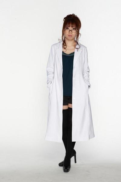 スタイリッシュ白衣 シングル 女子XLサイズ