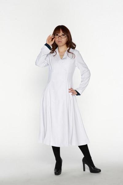 スタイリッシュ白衣 ダブル 女子Sサイズ