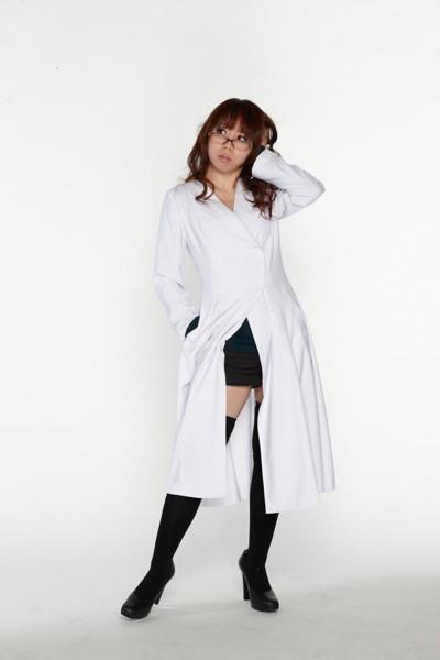 スタイリッシュ白衣 ダブル 女子Mサイズ