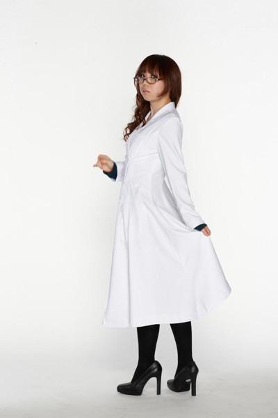スタイリッシュ白衣 ダブル 女子Lサイズ