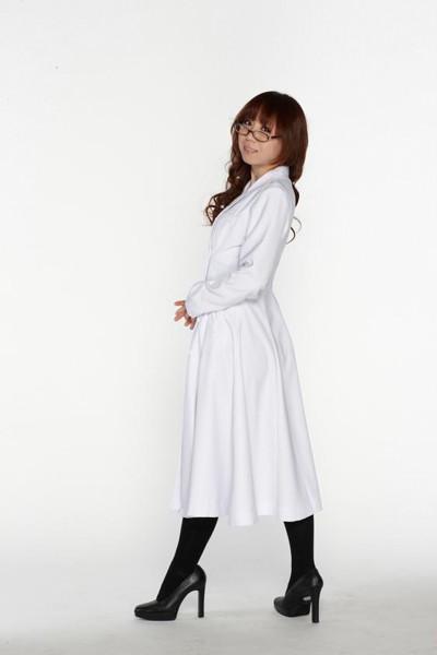 スタイリッシュ白衣 ダブル 女子XLサイズ