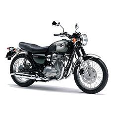 カワサキ W800 グリーン