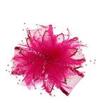 髪飾り花 ピンク